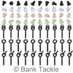 70 Piece Hook Stop and Bait Screw Set